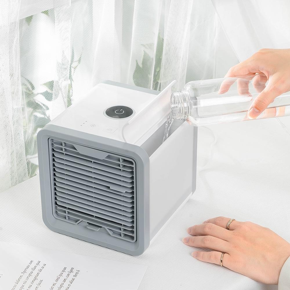 樂嫚妮 移動式可攜帶 水冷扇/霧化扇 USB桌上型