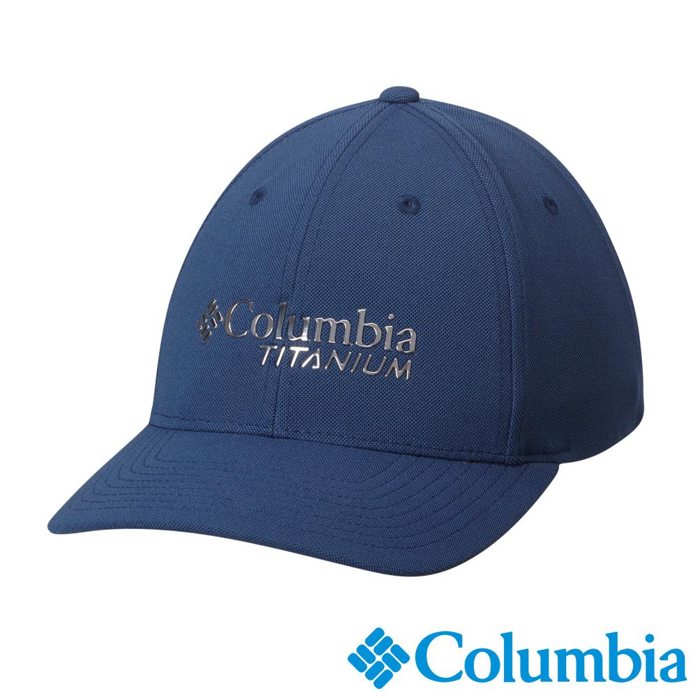 Columbia 哥倫比亞 鈦-防曬50棒球帽-深藍 UCU92290NY
