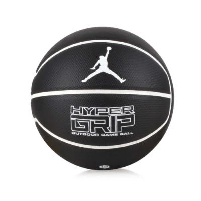 NIKE JORDAN HYPER GRIP 4P 7號籃球 黑白
