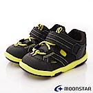 日本月星頂級童鞋 運動護趾涼鞋 FI116黑(寶寶段)
