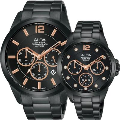 ALBA雅柏 心動時刻愛戀對錶(AT3G39X1+AP6641X1)