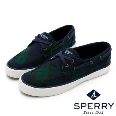 SPERRY CREST BOAT 舒適休閒帆船鞋(女)-深藍/綠