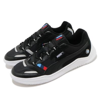 Puma 休閒鞋 BMW MMS DC Future 男鞋 聯名 舒適 皮革 簡約 質感 穿搭 黑 白 30652301