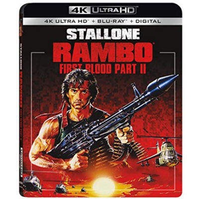 第一滴血 II  Rambo First Blood II 4K UHD+BD 雙碟限定版