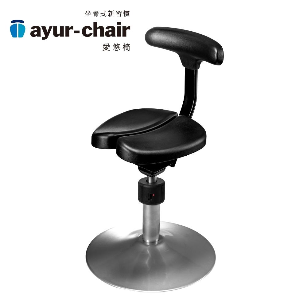 愛悠椅 Ayur-chair 基本圓盤款_黑(701010007)
