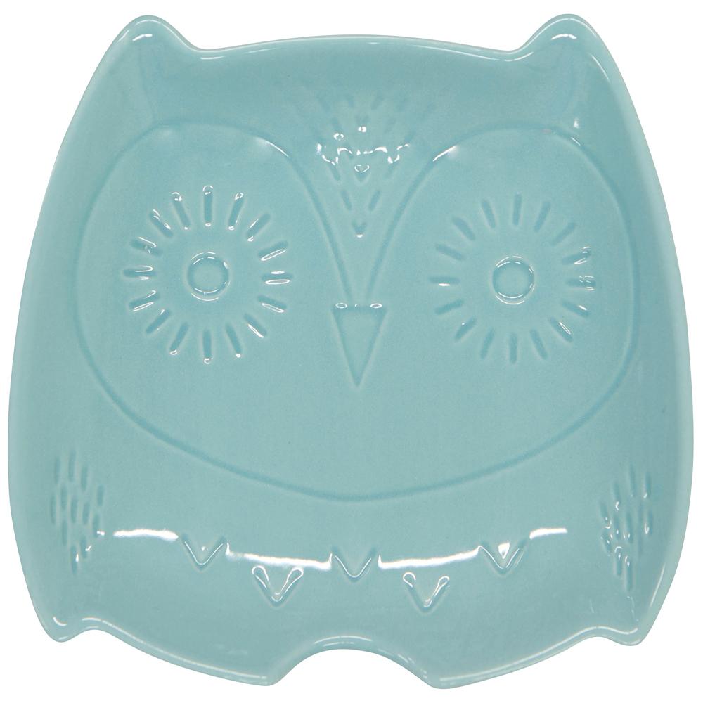 《NOW》陶瓷鏟匙盤(貓頭鷹)