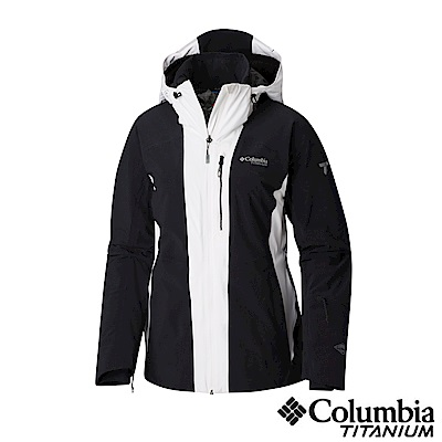 Columbia哥倫比亞 女款-鈦 Omni-HEAT鋁點保暖防水外套-黑色