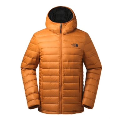 The North Face 男 700蓬鬆羽绒外套 橘-NF0A35E7P3N