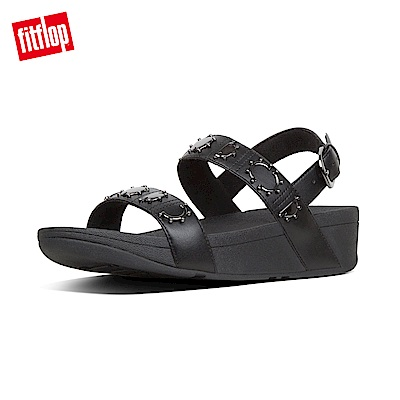 FitFlop STUD BACKSTRAP SANDALS-黑色