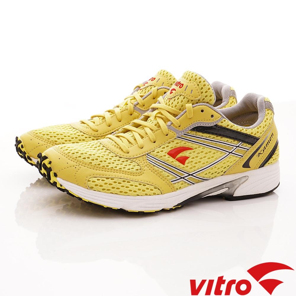 Vitro韓國專業運動品牌-KAMEN-Y/B/R頂級馬拉松鞋-黃(男)
