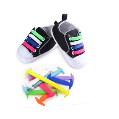 金德恩 韓國coolnice 創意彈力鞋帶 兒童免綁鞋帶(一組6色)