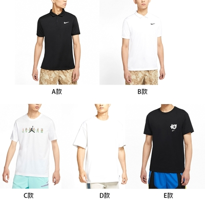 【時時樂限定】NIKE  POLO衫 運動慢跑短袖上衣男款(共五款任選)