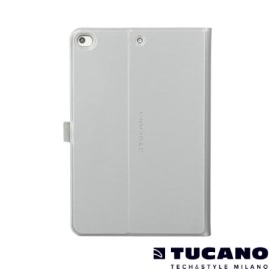 TUCANO iPad Mini5 7.9吋髮絲紋可站立式保護套 銀