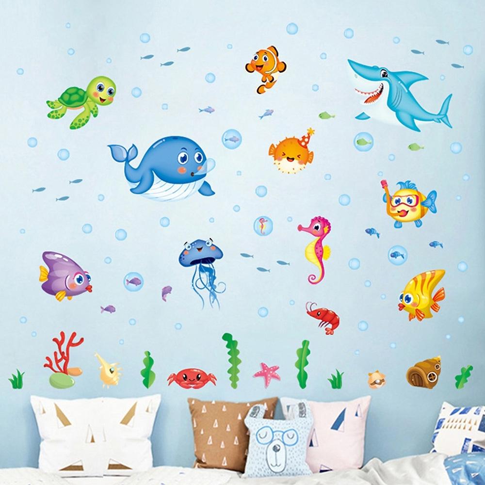 JB時尚壁貼-歡樂海洋世界