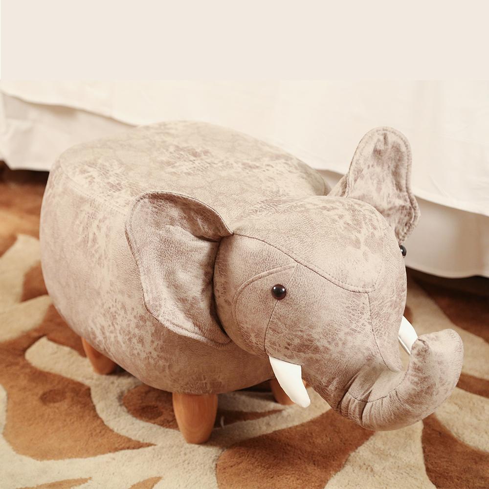 BuyJM絨布大象造型椅凳/沙發凳-DIY @ Y!購物