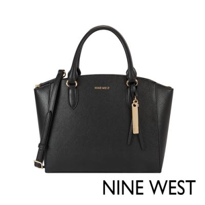 NINE WEST GOTG扇形貝殼通勤包-黑色(106306)