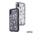 UNIQ Lumence 珍珠貝殼金屬邊框手機保護殼iPhone X