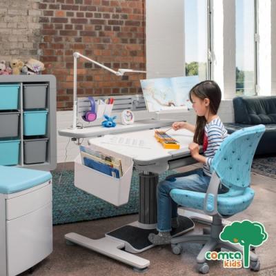 comta kids_ADAM亞當設計兒童成長學習桌‧幅115cm(灰) W115*D76.5*H59.7~78.2 cm