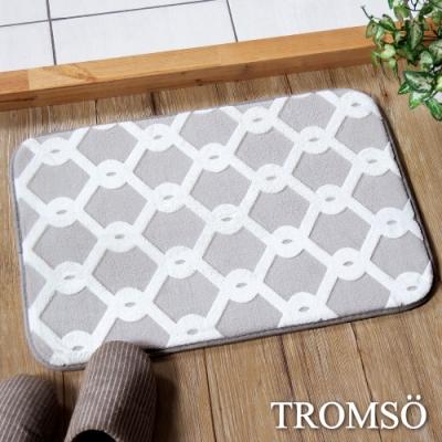 TROMSO法式淬鍊吸水小地墊-灰