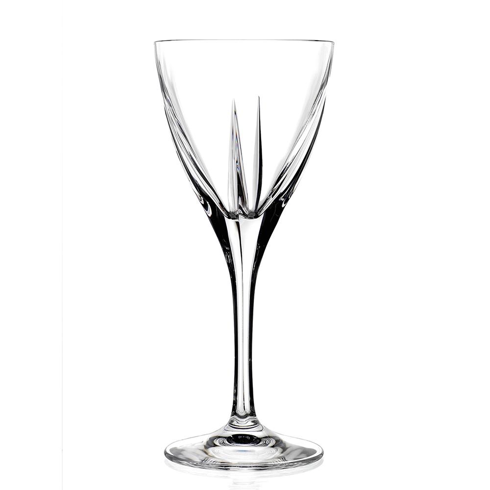 義大利RCR芙斯無鉛水晶高腳白酒杯(4入)210cc