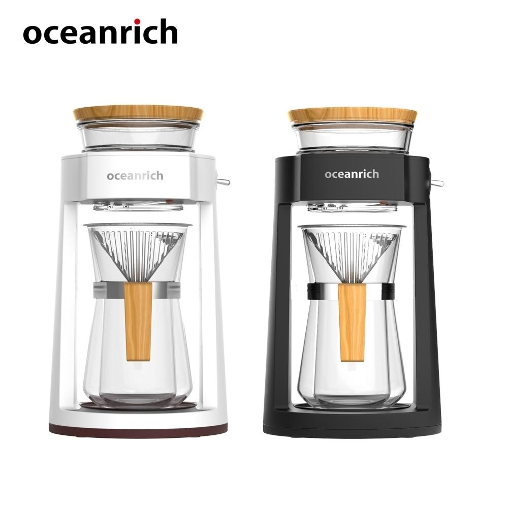 (加)【Oceanrich】仿手沖完美萃取旋轉咖啡機CR8350BD