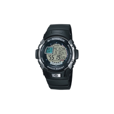 CASIO 卡西歐 G-SHOCK 極限賽車手錶-黑(G-7700-1)