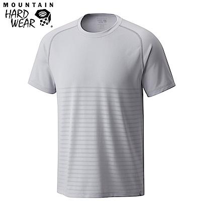 Mountain Hardwear 男款-快排短袖上衣-灰色