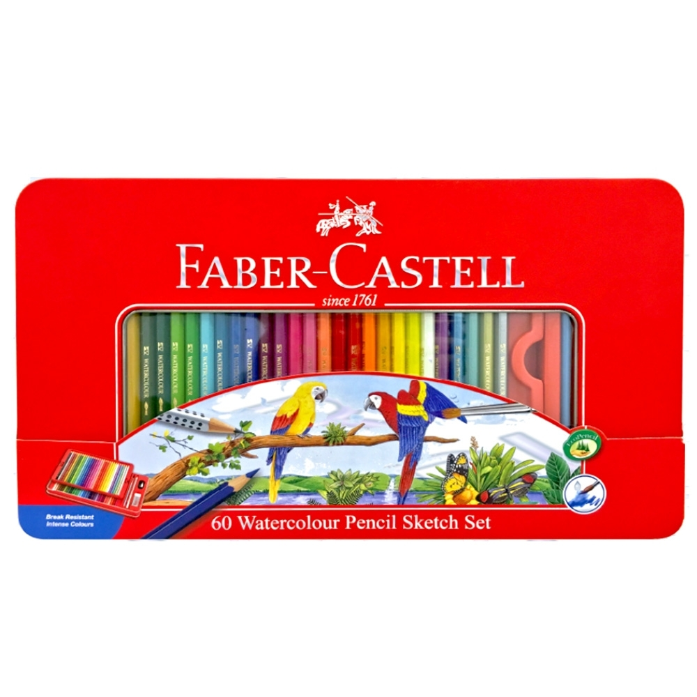 【Faber-Castell】115965 60色水性色鉛筆