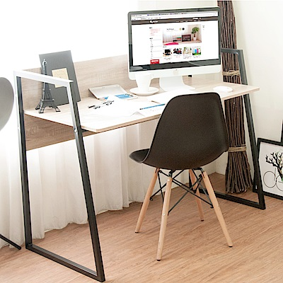 《HOPMA》DIY巧收工業風斜角創意工作桌