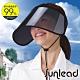 Sunlead 防風吹落。 防曬護臉透明長帽簷遮陽帽/空心帽/中空帽 product thumbnail 1