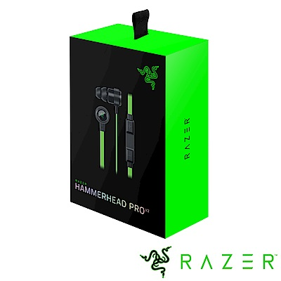 Razer 雷蛇 戰錘狂鯊專業版耳機Hammerhead Pro V2