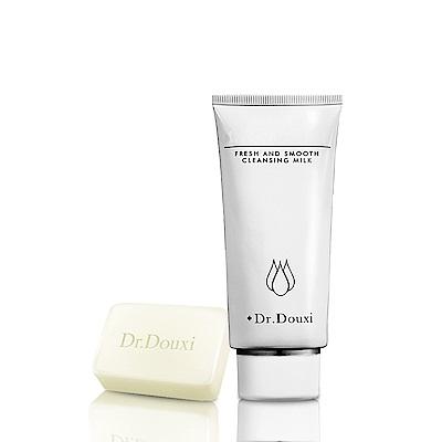 Dr.Douxi 朵璽 煥采清柔洗面乳 100ml  送卵殼精萃乳霜皂 27g