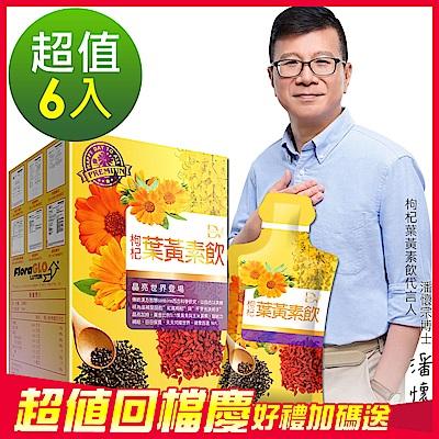潘懷宗推薦 枸杞葉黃素飲x6盒組