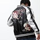 和風刺繡橫須賀外套(15色) -ZIP日本男裝