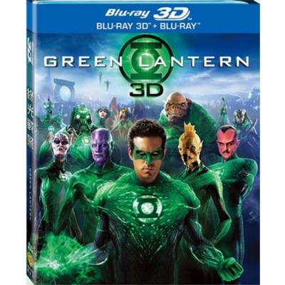 綠光戰警 Green Lantern 3D+2D 雙碟版  藍光 BD