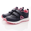 Reebok頂級童鞋 雙絆帶輕量運動鞋款 EI722黑粉(中小童段)
