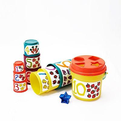 美國 B.Toys 大口疊疊杯_Battat系列