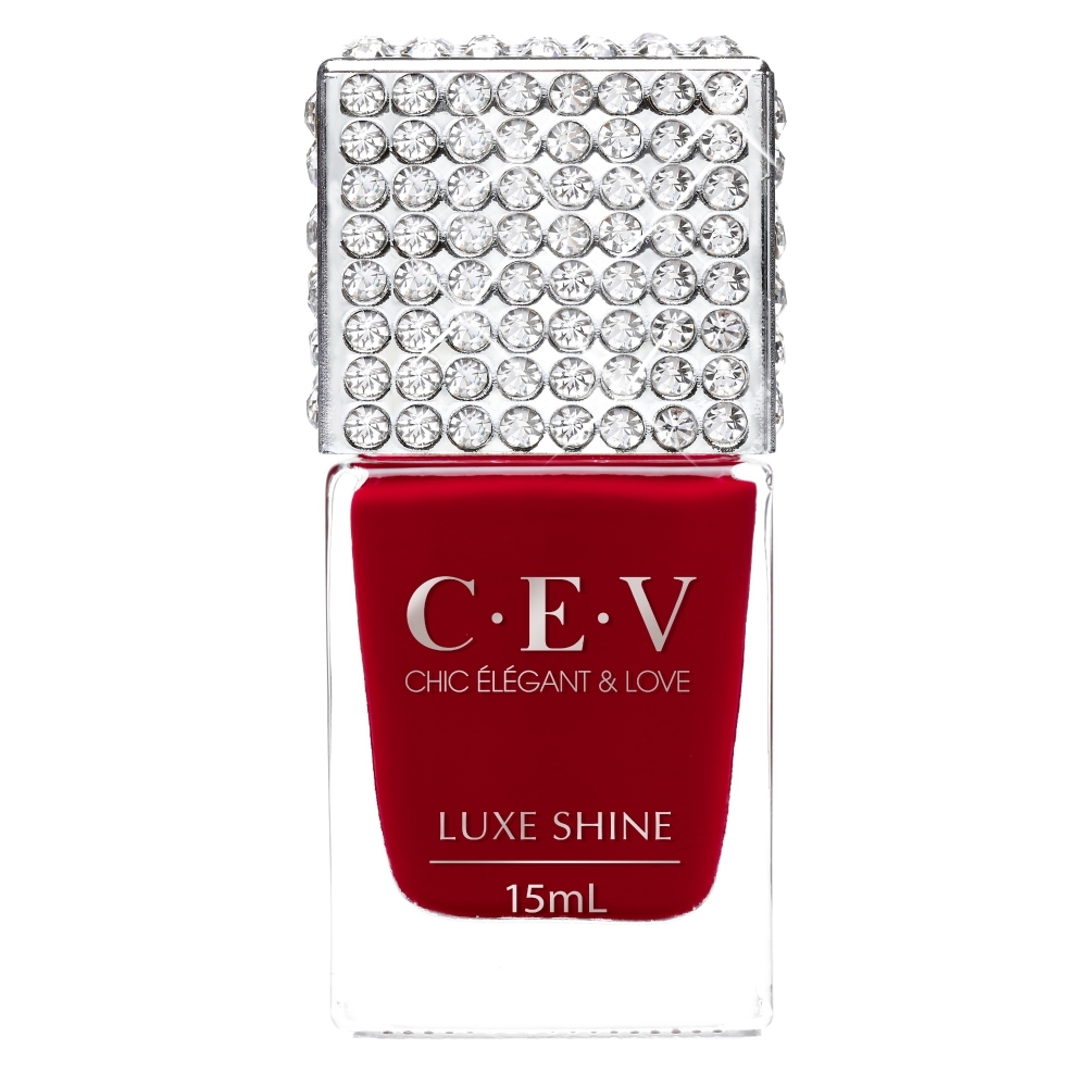 CEV超凝光感指甲油 #5901 紅寶石 (LUXE SHINE)