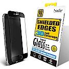 【hoda】iPhone 7/8 Plus 3D防碎軟邊滿版9H鋼化玻璃保護貼