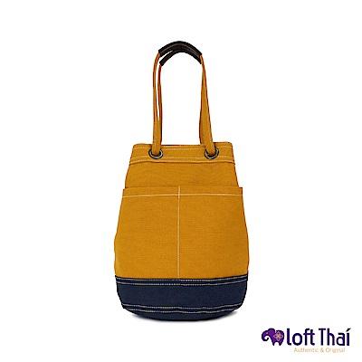 Loft THAI | U.MiniBucket | Mustard/navy