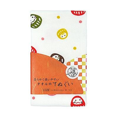 日本丸真 泉州製輕紗毛巾-不倒翁