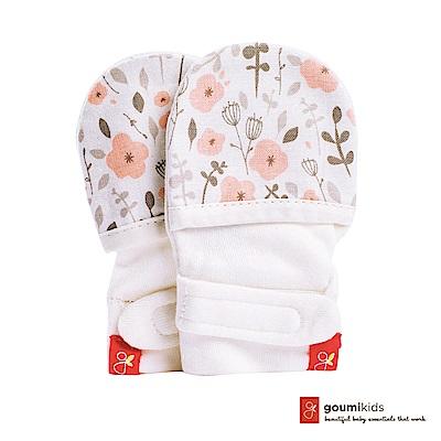 美國 GOUMIKIDS 有機棉嬰兒手套 (魔法花園)