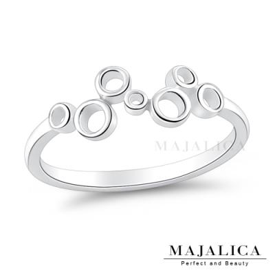 Majalica女戒尾戒925純銀戒指推薦品牌 浪漫泡泡 單個價格(MIT)