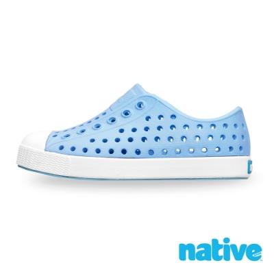 native 小童鞋 JEFFERSON 小奶油頭鞋-水洗藍x苔原灰