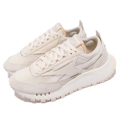 Reebok 休閒鞋 CL Legacy 運動 男女鞋 基本款 簡約 舒適 球鞋 情侶穿搭 淺卡其 GY2723