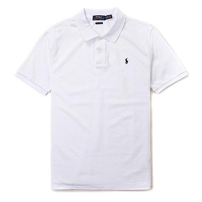 Polo Rlaph Lauren 經典小馬Polo衫(青年款Classic)-白色