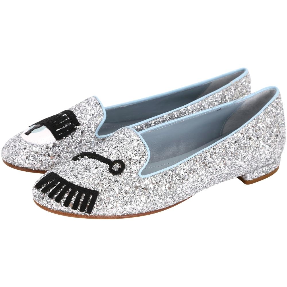 Chiara Ferragni 眨眼草編/樂福鞋(4款任選)(專櫃價$12800)
