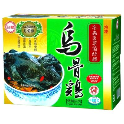台糖 冬蟲夏草燉補烏骨雞6入/箱(2.2kg±5%/盒)