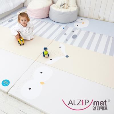 【ALZiPmat】韓國手工製 ZOO MAT 動物四折折疊墊 - 動物好朋友