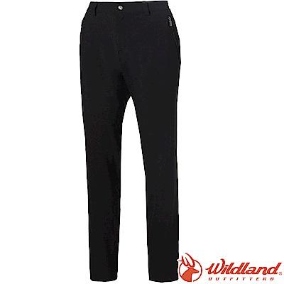 Wildland 荒野 S1383-54黑色 女四向彈性抗UV休閒長褲